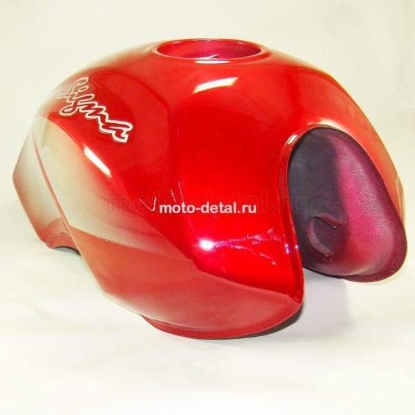 Купить Бензобак мопед SIGMA (Красный) с доставкой по РФ из категории товаров  со склада в Ижевске в интернет-магазине МОТОДЕТАЛЬ https://im-motodetal.ru