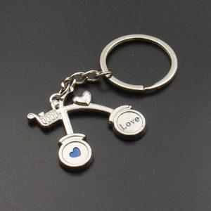 Купить Брелок для ключей LOVE BICYCLE с доставкой по РФ из категории товаров  со склада в Ижевске в интернет-магазине МОТОДЕТАЛЬ https://im-motodetal.ru