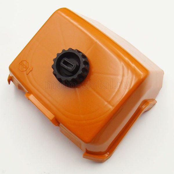 Купить Дефлектор STIHL 440 (крышка возд. фильтра) под фильтр HD (аналог) 1128-140-1003 с доставкой по РФ из категории товаров  со склада в Ижевске в интернет-магазине МОТОДЕТАЛЬ https://im-motodetal.ru