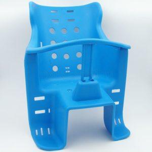 Купить Кресло вело. детское ПЛАСТ. (крепление на багажник) (цв. красный