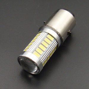 Купить Лампа LED Н6 (BA20D) 8 Вт/ 800Лм/ 5000К (33-SMD диода 5630); фары