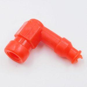 Купить Надсвечник ALPHA (силиконовый) (КРАСНЫЙ) 90* с доставкой по РФ из категории товаров Свечи зажигания. В/В колпачки