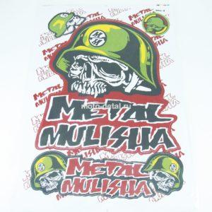 """Купить Наклейки """"Metal Mulisha"""" (30*45см"""