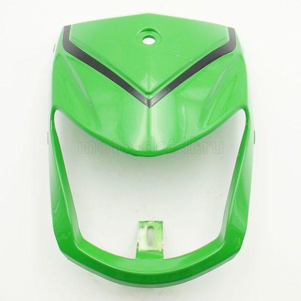 Купить Обтекатель перед. фары (зеленый); T125