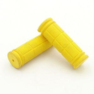 Купить Ручки руля вело  90мм желтые с доставкой по РФ из категории товаров  со склада в Ижевске в интернет-магазине МОТОДЕТАЛЬ https://im-motodetal.ru