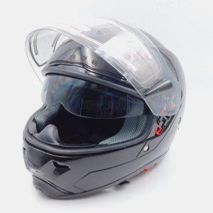 Купить Шлем S2-G-342 Интеграл (стекло с подогревом+очки+запасное стекло) Черный с доставкой по РФ из категории товаров  со склада в Ижевске в интернет-магазине МОТОДЕТАЛЬ https://im-motodetal.ru