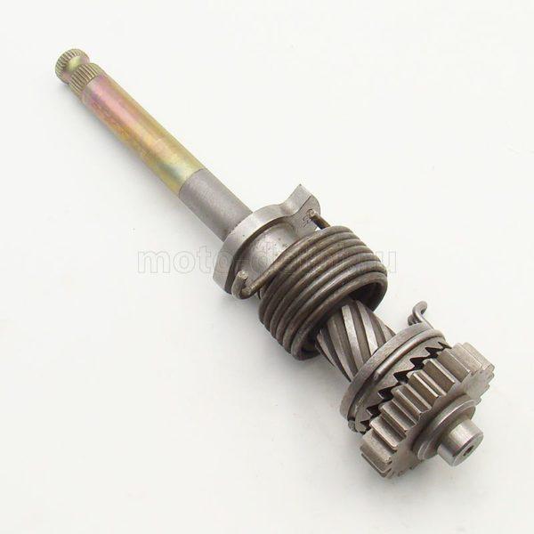 Купить Вал кикстартера в сб.(205мм) 153FMI косозуб.; 125cc